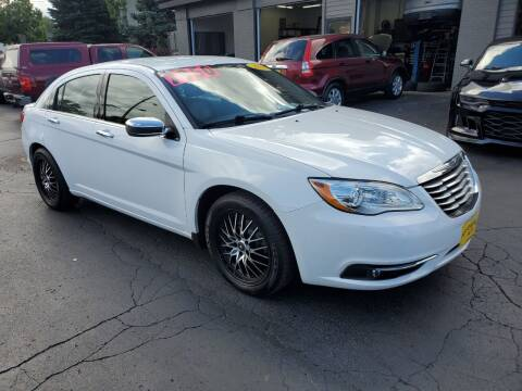 2013 Chrysler 200 for sale at AFFORDABLE AUTO, LLC in Green Bay WI