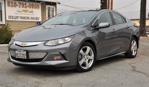 2018 Chevrolet Volt for sale at AMC Auto Sales, Inc. in Fremont CA