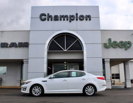 2015 Kia Optima for sale at Champion Chevrolet in Athens AL