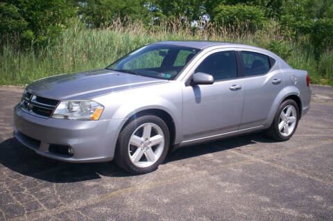 2013 Dodge Avenger for sale at Action Auto Wholesale - 30521 Euclid Ave. in Willowick OH