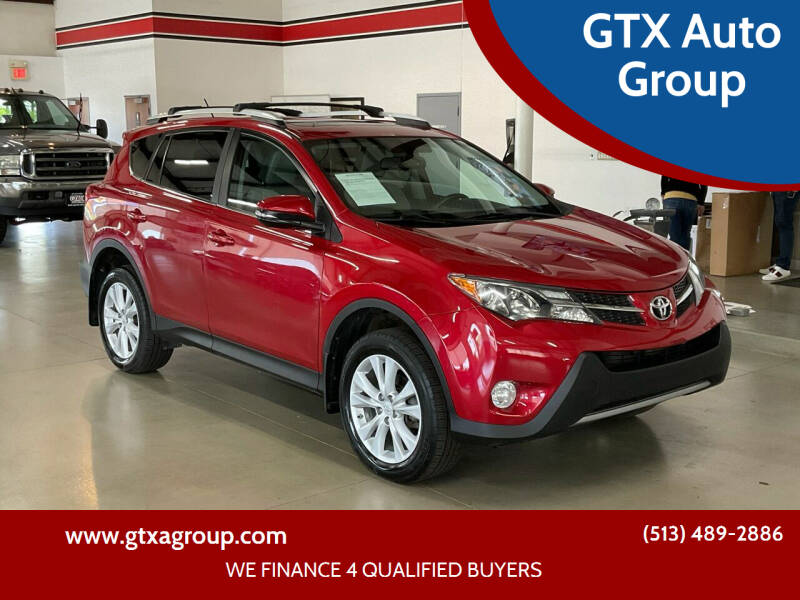2014 Toyota RAV4 for sale at GTX Auto Group in West Chester OH