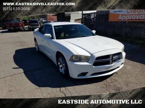 2013 Dodge Charger for sale at EASTSIDE AUTOMOTIVE LLC in Nashville TN