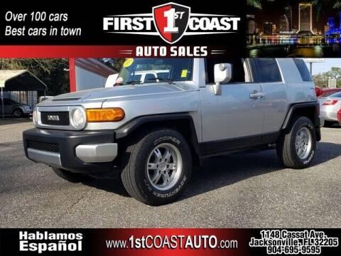 2007 Toyota FJ Cruiser for sale at 1st Coast Auto -Cassat Avenue in Jacksonville FL