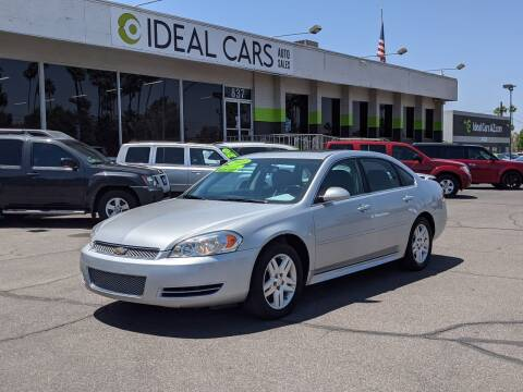 2013 Chevrolet Impala for sale at Ideal Cars Broadway in Mesa AZ