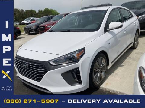 2019 Hyundai Ioniq Hybrid for sale at Impex Auto Sales in Greensboro NC