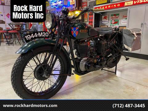 1944 BSA M20 for sale at Rock Hard Motors Inc in Treynor IA