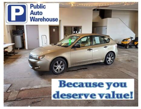 2008 Subaru Impreza for sale at Public Auto Warehouse in Pekin IL