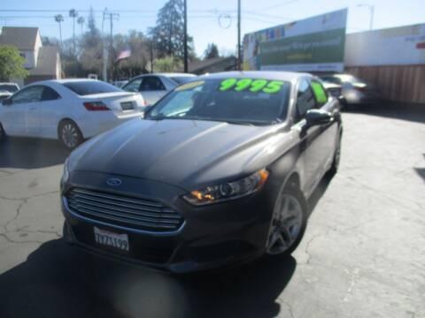 2014 Ford Fusion for sale at Quick Auto Sales in Modesto CA