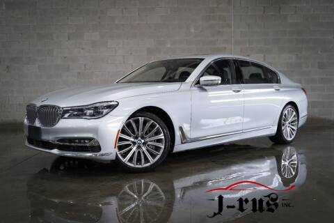 2018 BMW 7 Series for sale at J-Rus Inc. in Macomb MI