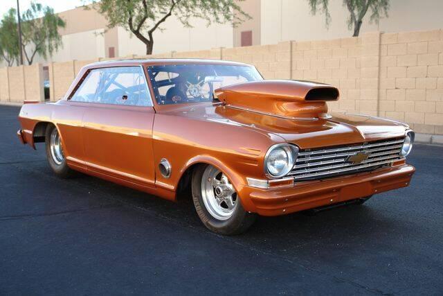 1963 Chevrolet Nova for sale at Arizona Classic Car Sales in Phoenix AZ