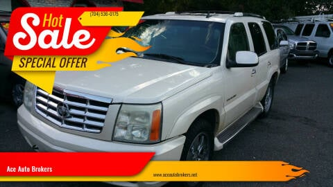 2006 Cadillac Escalade for sale at Ace Auto Brokers in Charlotte NC
