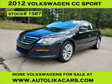 2012 Volkswagen CC for sale at Autolika Cars LLC in North Royalton OH