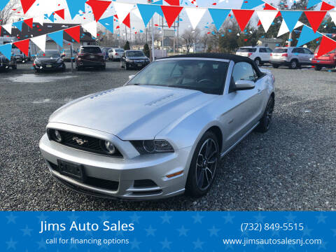 2014 Ford Mustang for sale at Jims Auto Sales in Lakehurst NJ
