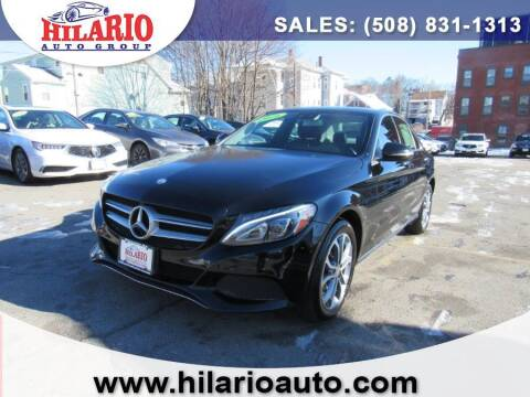 2016 Mercedes-Benz C-Class for sale at Hilario's Auto Sales in Worcester MA