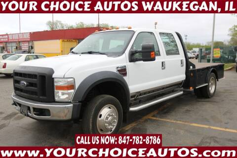 2008 Ford F-450 Super Duty for sale at Your Choice Autos - Waukegan in Waukegan IL