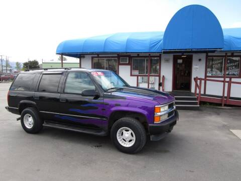 1996 Chevrolet Tahoe for sale at Jim's Cars by Priced-Rite Auto Sales in Missoula MT