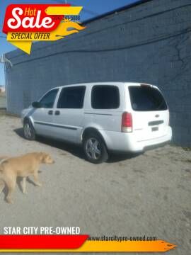 2005 Chevrolet Uplander for sale at STAR CITY PRE-OWNED in Morgantown WV