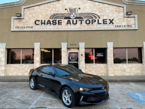 2018 Chevrolet Camaro for sale at CHASE AUTOPLEX in Lancaster TX