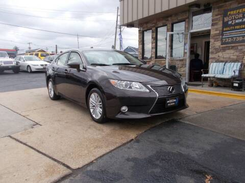 2013 Lexus ES 350 for sale at Preferred Motor Cars of New Jersey in Keyport NJ