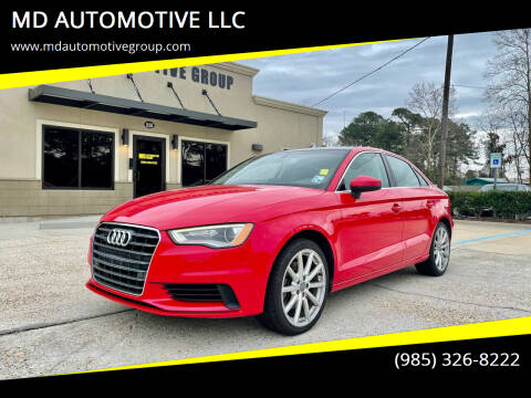2015 Audi A3 for sale at MD AUTOMOTIVE LLC in Slidell LA