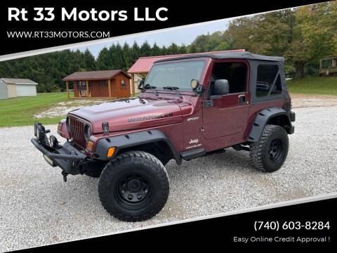 2003 Jeep Wrangler for sale at Rt 33 Motors LLC in Rockbridge OH