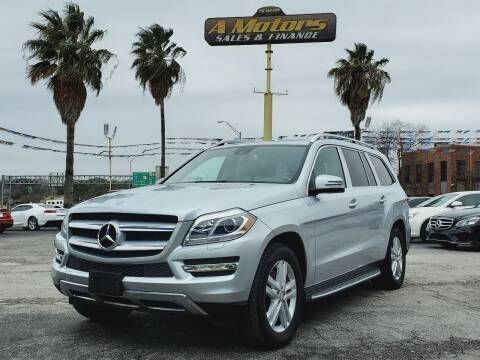 2013 Mercedes-Benz GL-Class for sale at A MOTORS SALES AND FINANCE in San Antonio TX