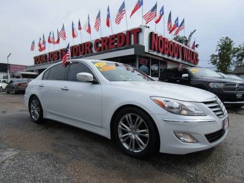 2012 Hyundai Genesis for sale at Giant Auto Mart 2 in Houston TX