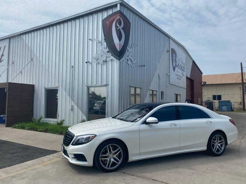 2015 Mercedes-Benz S-Class for sale at Barrett Auto Gallery in San Juan TX