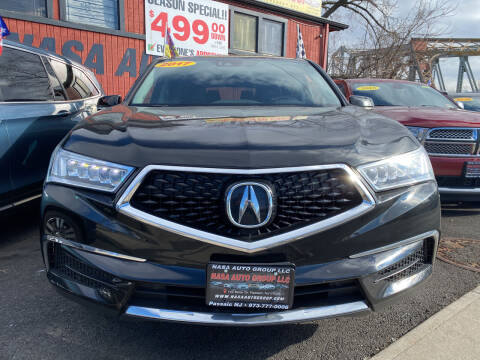 2017 Acura MDX for sale at Nasa Auto Group LLC in Passaic NJ