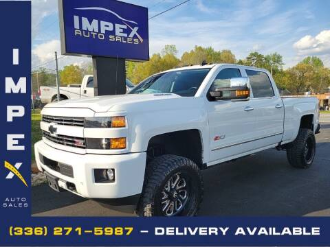2016 Chevrolet Silverado 2500HD for sale at Impex Auto Sales in Greensboro NC