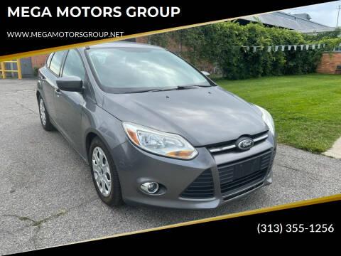 2012 Ford Focus for sale at MEGA MOTORS GROUP in Redford MI