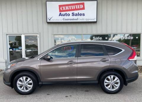 2013 Honda CR-V for sale at Certified Auto Sales in Des Moines IA