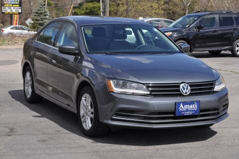 2017 Volkswagen Jetta for sale at Amati Auto Group in Hooksett NH