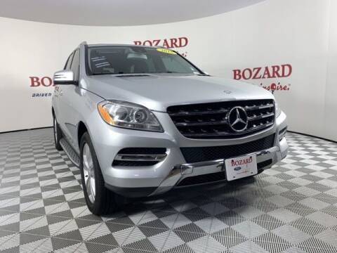 2015 Mercedes-Benz M-Class for sale at BOZARD FORD in Saint Augustine FL