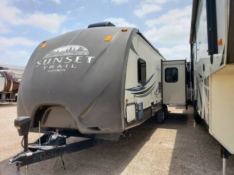 2013 Crossroads Sunset Trail 30RE  for sale at Ultimate RV in White Settlement TX