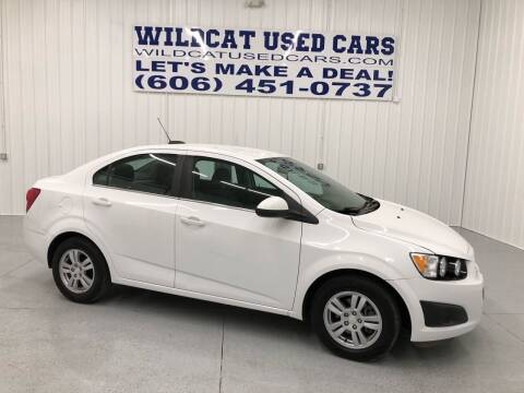 2016 Chevrolet Sonic for sale at Wildcat Used Cars in Somerset KY
