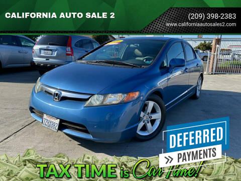2006 Honda Civic for sale at CALIFORNIA AUTO SALE 2 in Livingston CA