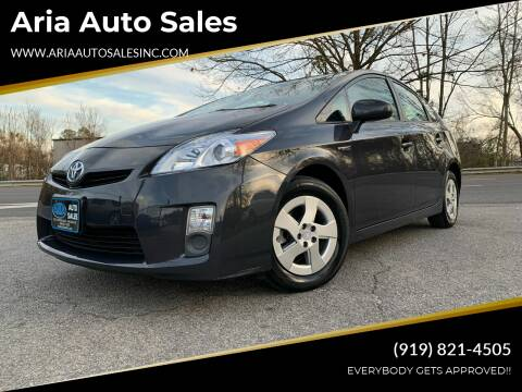 2011 Toyota Prius for sale at ARIA  AUTO  SALES in Raleigh NC