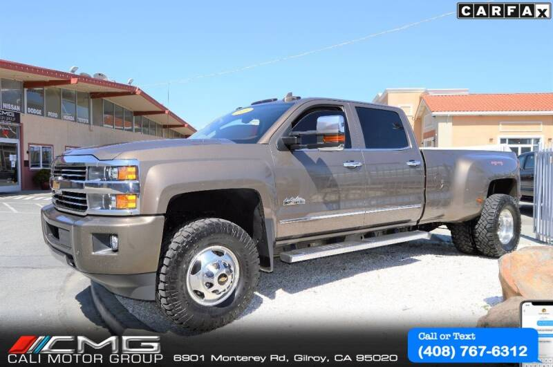 2015 Chevrolet Silverado 3500HD for sale at Cali Motor Group in Gilroy CA