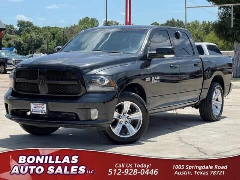 2018 RAM Ram Pickup 1500 for sale at Bonillas Auto Sales in Austin TX
