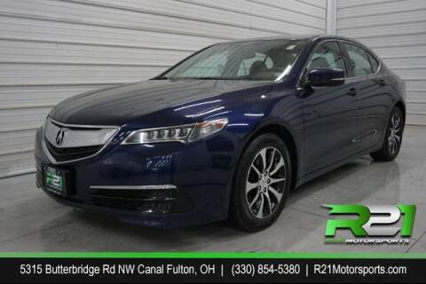 2015 Acura TLX for sale at Route 21 Auto Sales in Canal Fulton OH