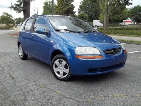 2007 Chevrolet Aveo for sale at CORTEZ AUTO SALES INC in Marietta GA