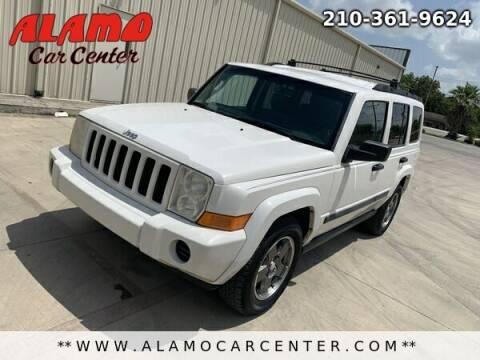 2006 Jeep Commander for sale at Alamo Car Center in San Antonio TX