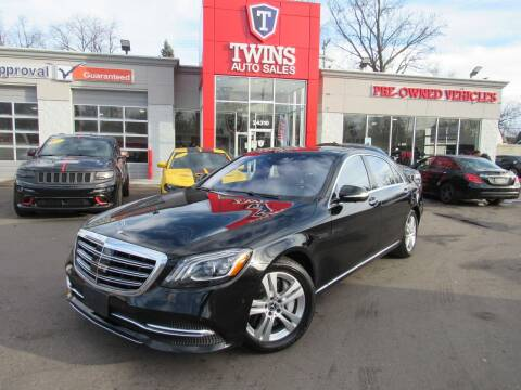 2018 Mercedes-Benz S-Class for sale at Twins Auto Sales Inc - Detroit in Detroit MI