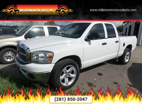 2008 Dodge Ram Pickup 1500 for sale at MILLENIUM MOTOR SALES, INC. in Rosenberg TX
