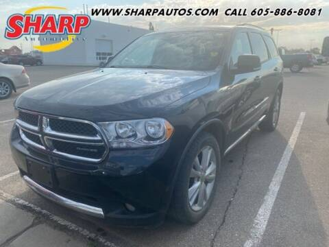 2012 Dodge Durango for sale at Sharp Automotive in Watertown SD