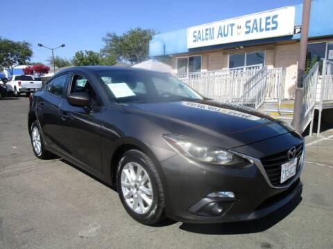 2016 Mazda MAZDA3 for sale at Salem Auto Sales in Sacramento CA