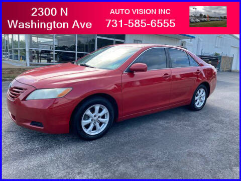 2007 Toyota Camry for sale at Auto Vision Inc. in Brownsville TN