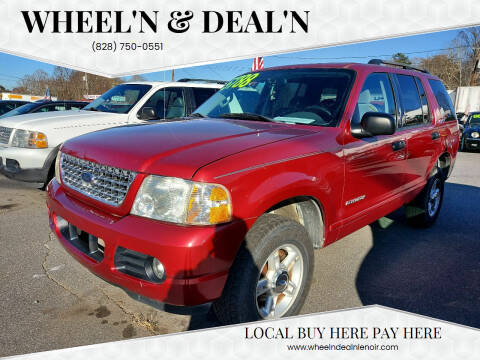 2004 Ford Explorer for sale at Wheel'n & Deal'n in Lenoir NC