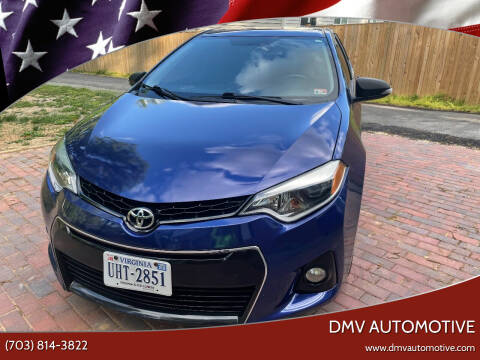 2015 Toyota Corolla for sale at DMV Automotive in Falls Church VA